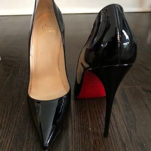 5c416f2f677 Christian Louboutin Shoes - Black classic Christian Louboutins. Worn once